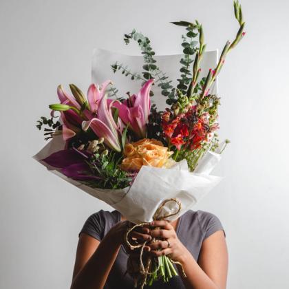 Designer Bouquet, Fresh Flower Bunch, Birthday