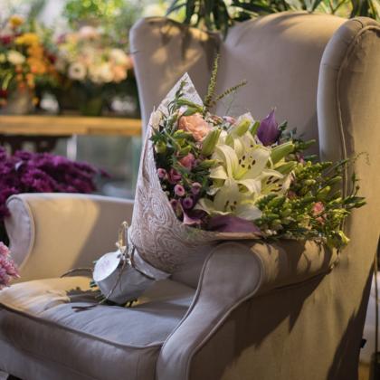 Designer Bouquet, Fresh Flower Bunch,