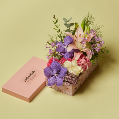 Gift Box, Exclusive Collection, Birthday Flowers, Arrangement